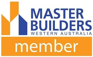 A Master Builders WA logo.